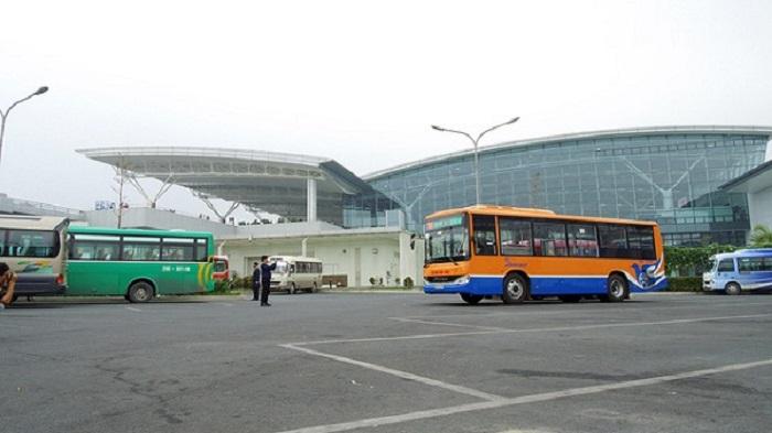 Nhiều tuyến xe bus đi Nội Bài