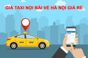 Bảng giá taxi từ sân bay Nội Bài về 12 Quận của Hà Nội