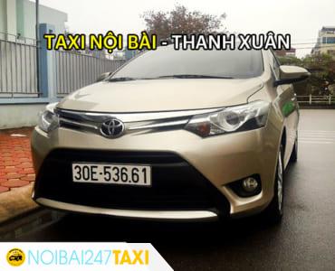 Taxi Nội Bài Thanh Xuân giá rẻ chỉ từ 240.000VNĐ – Thanh Xuân đi Nội Bài từ 190.000