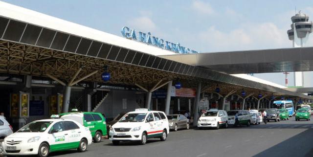 Đi taxi từ sân bay Nội Bài về ga Hà Nội