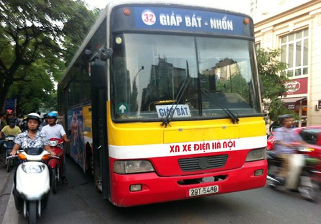 Đi xe bus từ bến xe Giáp Bát đến sân bay Nội Bài