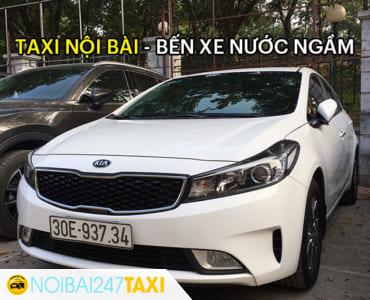 Giá taxi từ sân bay Nội Bài về bến xe Nước Ngầm chỉ từ 310.000