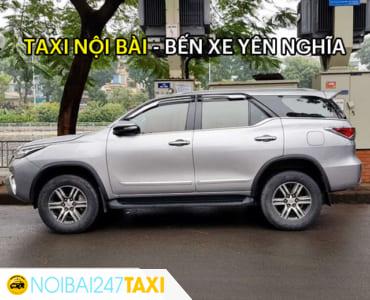 Giá taxi từ sân bay Nội Bài về bến xe Yên Nghĩa chỉ từ 290.000