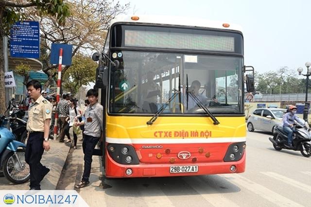 Xe bus Cầu Giấy Nội Bài