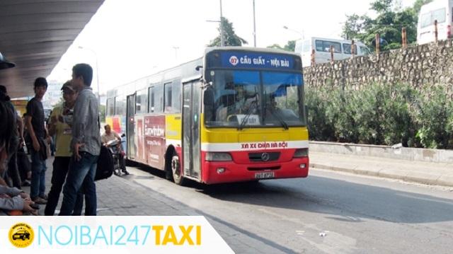 Đi từ sân bay Nội Bài về bến xe Mỹ Đình Xe bus 07