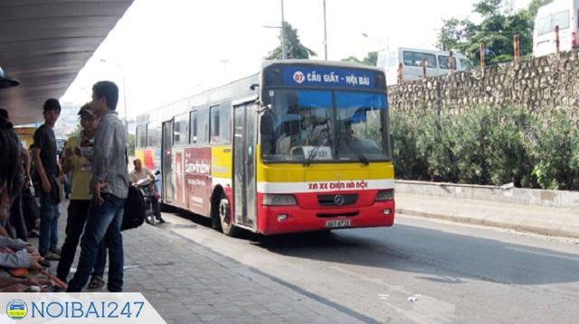 Cách đi xe bus từ sân bay Nội Bài về bến xe Mỹ Đình - Đi xe bus 07