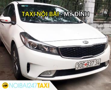 Giá taxi từ sân bay Nội Bài về bến xe Mỹ Đình chỉ từ 250.000