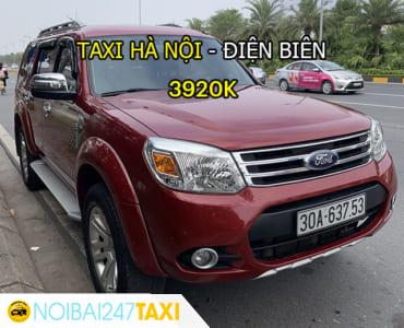 Taxi từ Hà Nội đi Điện Biên Giá Rẻ, Trọn Gói chỉ từ 3.920.000