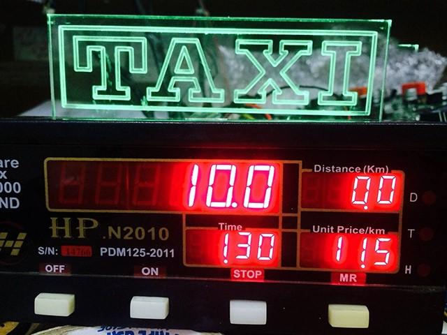 kiểm tra đồng hồ đo km khi đi Hà Nội - Sơn La