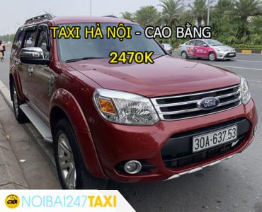 Taxi từ Hà Nội đi Cao Bằng Giá Rẻ, Trọn Gói chỉ từ 2.470.000