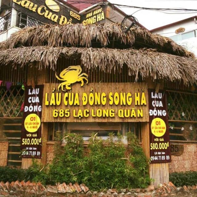Lẩu cua đồng Song Hà