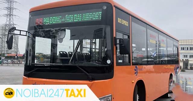 xe bus đi sân bay Nội Bài xe 68
