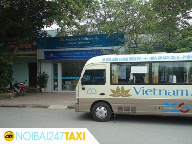xe bus sân bay Hãng Vietnam Airlines