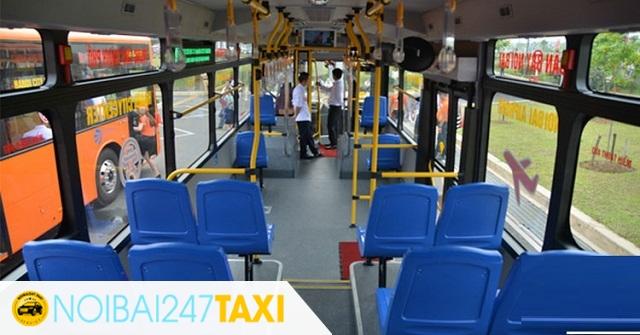 xe buýt từ sân bay nội bài về hà nội