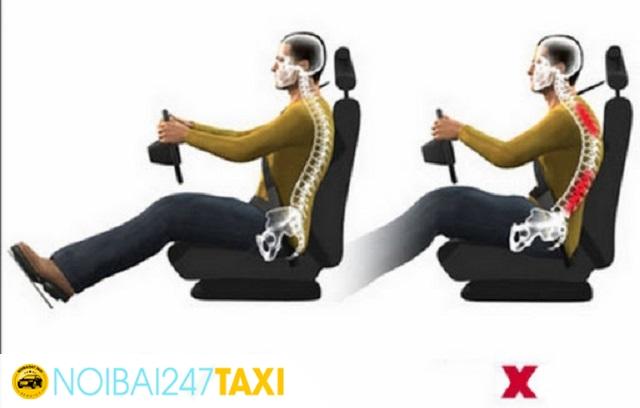 Chọn tư thế ngồi lái đúng cách