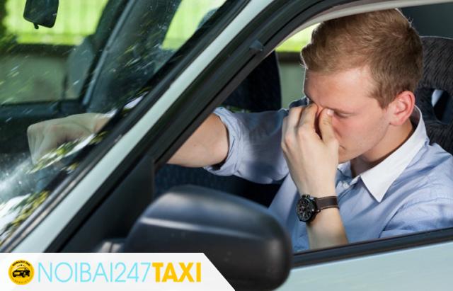 Dừng xe nghỉ ngơi nếu cảm thấy buồn ngủ